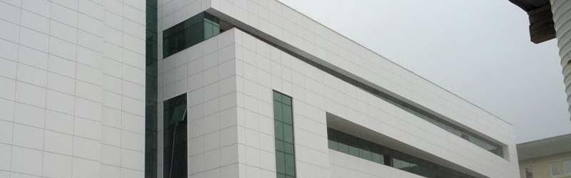 نمای ساختمان با کامپوزیت
